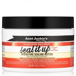 AUNT JACKIE'S CURLS & COILS SEAL IT UP HYDRATING SEALING BUTTER