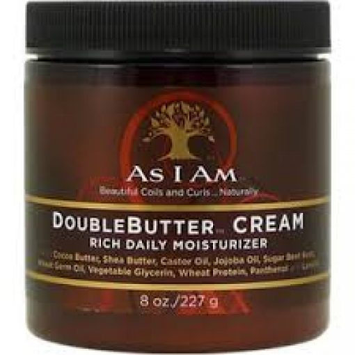 AS I AM DOUBLE BUTTER RICH DAILY MOISTURIZER 8oz