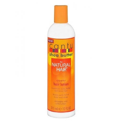 CANTU SHEA BUTTER  NATURAL HAIR CREAMY LOTION 13.8OZ