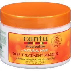 CANTU SHEA BUTTER DEEP TREATMENT MASQUE - 12 OUNCE
