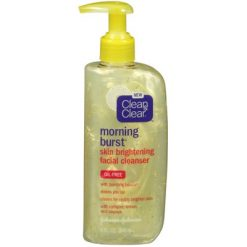 CLEAN & CLEAR CLEANSERS MORNING BURST SKIN BRIGHTENING CLEANSER, 8 OZ