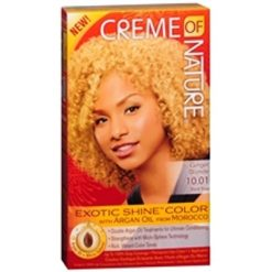 CREME OF NATURE EXOTIC SHINE COLOR GINGER BLONDE 10.01
