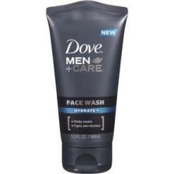 DOVE MEN CARE HYDRATE + FACE WASH, 5 FL OZ