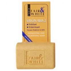 FAIR & WHITE AHA 2 EXFOLIATING AND BRIGHTENING SOAP 7OZ