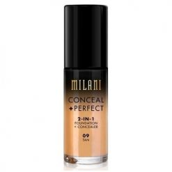MILANI CONCEAL PERFECT 2 IN 1 FOUNDATION CONCEALER TAN