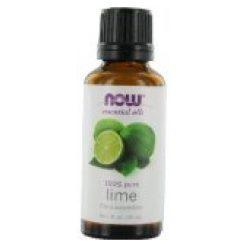 Now Food Essential Oils Lime 1 Fl Oz