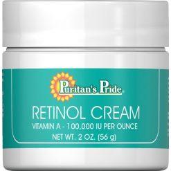 Puritans Pride Retinol Cream 2 Oz