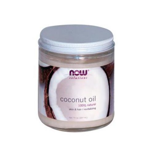 NOW SOLUTIONS COCONUT OIL 100% NATURAL 7oz
