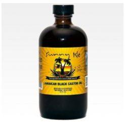 SUNNY  ISLE -JAMAICAN BLACK CASTOR OIL - 4 OZ.
