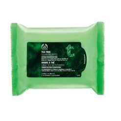 THE BODY SHOP TEA TREE CLEANSING WIPES, 25WIPES