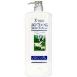 TRACIA GOAT'S MILK LIGHTENING SHOWER CREAM
