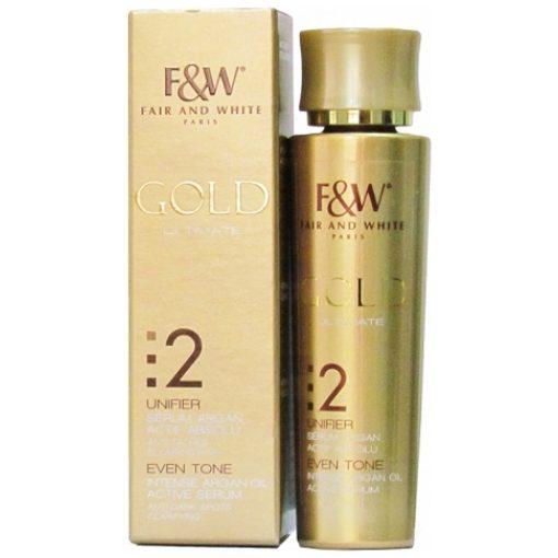 Fair & White Gold Intense Argan Oil Active Serum 30 Ml