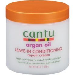 CANTU ARGAN OIL LEAVE IN CONDITIONING REPAIR CREAM - 16OZ