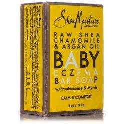 SHEA MOISTURE RAW SHEA BUTTER BABY ECZEMA BAR SOAP