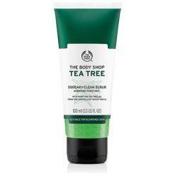 THE BODY SHOP TEA TREE OIL SQUEAKY CLEAN SCRUB