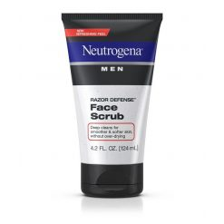 NEUTROGENA MEN RAZOR DEFENSE FACE SCRUB 4.2oz