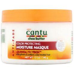 CANTU SHEA BUTTER ANTI FADE COLOR PROTECTING MOISTURE MASQUE, 12 OZ