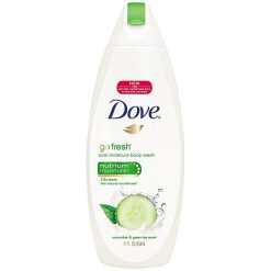 DOVE GO FRESH BODY WASH COOL MOISTURE, CUCUMBER & GREEN TEA 12 OZ