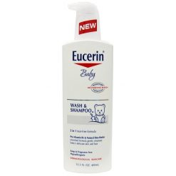 EUCERIN BABY WASH AND SHAMPOO 13.5oz