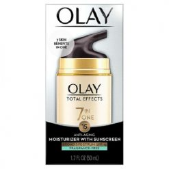 OLAY TOTAL EFFECTS 7-IN-1 ANTI-AGING FACE MOISTURIZER WITH SPF 15 FRAGRANCE-FREE1.7 OZ.