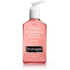NEUTROGENA PINK GRAPE OIL-FREE ACNE WASH FACIAL CLEANSER 177ML