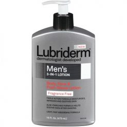 LUBRIDERM MEN'S 3-IN-1 FRAGRANCE-FREE LOTION 16oz
