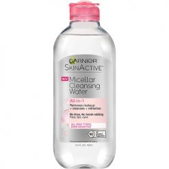 GARNIER MICELLAR ALL-IN-1 CLEANSING WATER FOR ALL SKIN TYPES EVEN SENSITIVE 13.5oz