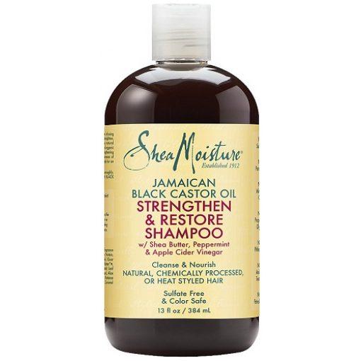 Shea Moisture Jamaican Black Castor Oil Strengthen, ,grow And Restore Shampoo 13oz