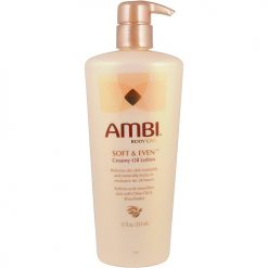 AMBI CREAMY OIL SOFT & EVEN BODY LOTION, 12 OZ