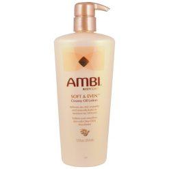 AMBI CREAMY OIL SOFT & EVEN BODY LOTION, 12 OZ