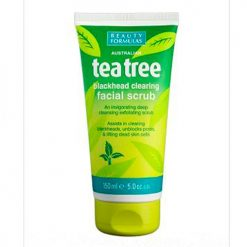 BEAUTY FORMULAS TEATREE BLACKHEAD CLEARING FACIAL SCRUB