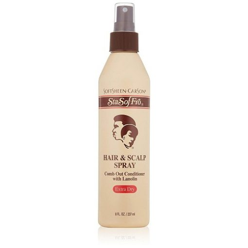 Softsheen-carson Sta-sof-fro Extra Dry Hair & Scalp Spray, 8oz