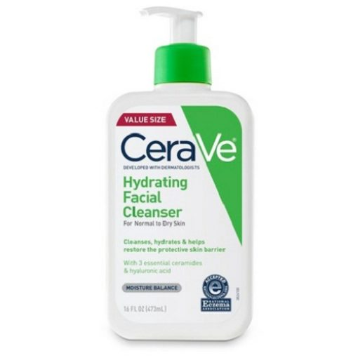 CERAVE HYDRATING FACIAL CLEANSER 16OZ FOR DAILY FACE WASHING