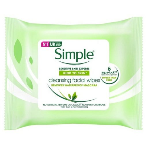 SIMPLE KIND TO SKIN CLEANSING FACIAL WIPES 25WIPES