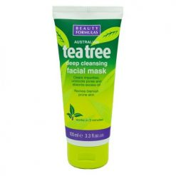 BEAUTY FORMULAS TEA TREE DEEP CLEANSING FACIAL MASK