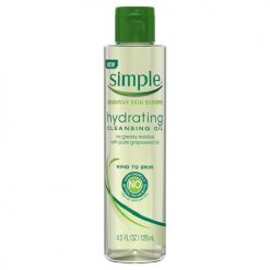 SIMPLE SENSITIVE SKIN EXPERTS HYDRATING CLEANSING OIL 4.2 OZ