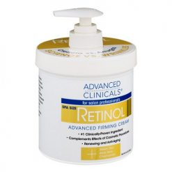 ADVANCED CLINICALS RETINOL FIRMING CREAM, 16 OZ