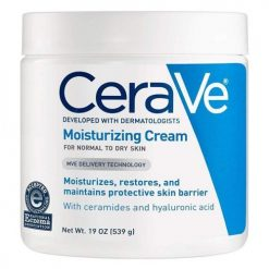 CERAVE MOISTURIZING CREAM DAILY FACE AND BODY MOISTURIZER FOR DRY SKIN 19OZ