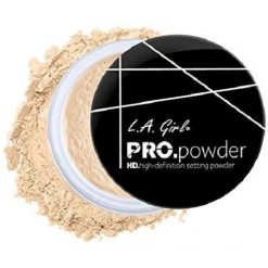 L.A. GIRL PRO HIGH DEFINITION SETTING POWDER, BANANA YELLOW