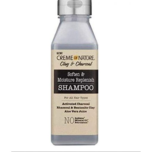 CREME OF NATURE CLAY AND CHARCOAL SHAMPOO