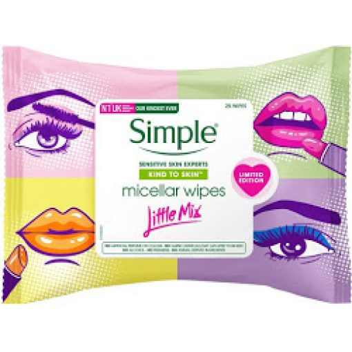 SIMPLE MICELLAR WIPES LITTLE MIX