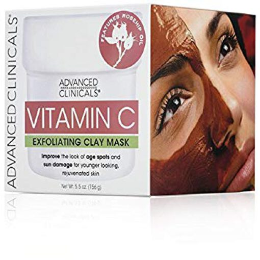 ADVANCE CLINICAL VITAMIN C  EXFOLIATING CLAY MASK
