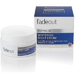 FADE OUT ADVANCED WHITENING NIGHT CREAM 50ML