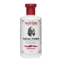 THAYERS ALCOHOL-FREE ROSE PETALS WITCH HAZEL WITH ALEO VERA ~ 12 OZ