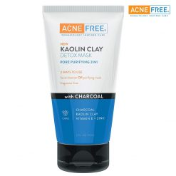 ACNEFREE KAOLIN CLAY DETOX MASK WITH CHARCOAL