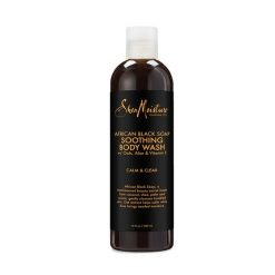 Shea Moisture African Black Soap Soothing Body Wash 13oz