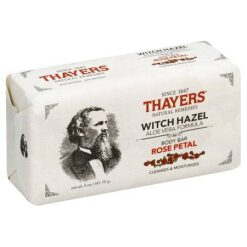 THAYERS BODY BAR SOAP WITCH HAZEL ROSE PETALS