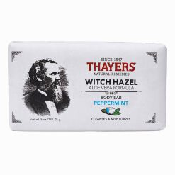 THAYERS BAR SOAP WITCH HAZEL PEPPERMINT