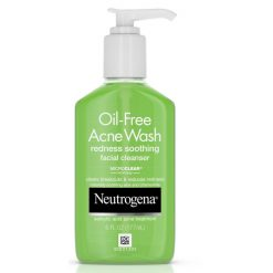Neutrogena Oil Free Acne Wash Redness Soothing Cleanser