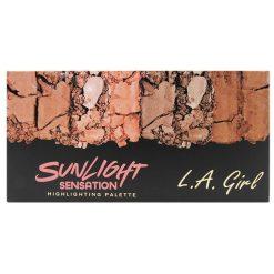 L.A GIRL FANATIC HIGHLIGHING PALETTE-SUNLIGHT SENSATION